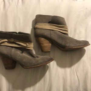 Booties from Anthropologie